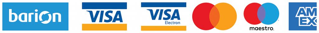 Bankkártyás fizetéssel is támogathat bennünket a Barion biztonságos felületén kresztül.